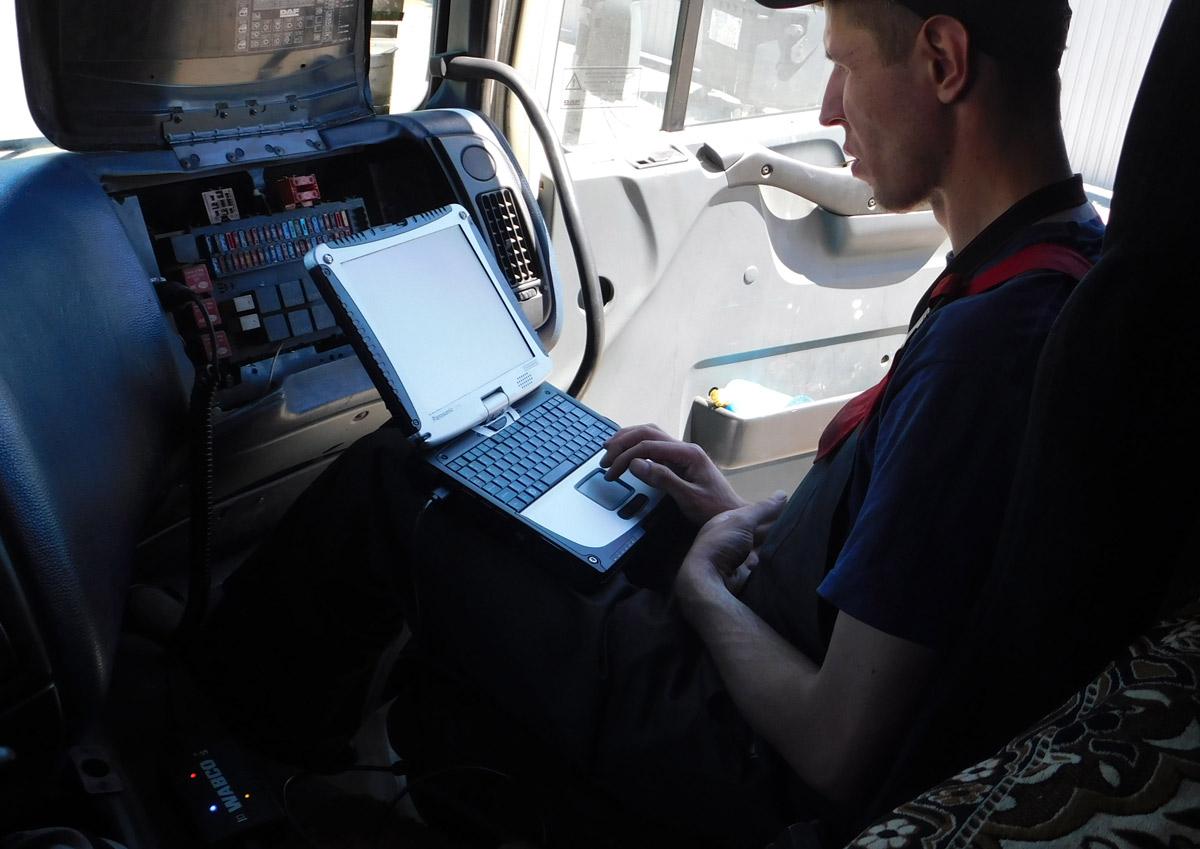 Компьютерная диагностика систем WABCO - 200 грн.